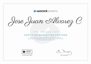 woorank certification marketing partner. SEO